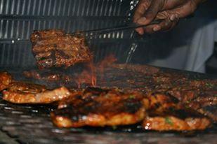 Asian BBQ på Grillen